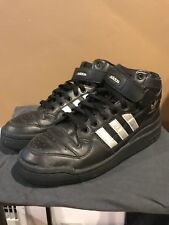 Adidas Forum Mid Black Silver Size 9.5