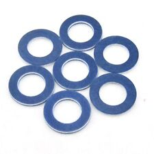 10pcs Car Oil Drain Plug Washer Blue Gaskets (P/N 90430-12031) For Toyota&Lexus