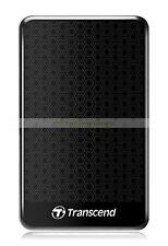 Transcend Black Ext HDD 2TB 2T StoreJet 25A3 SJ USB3.0 Disco duro externo ct ES