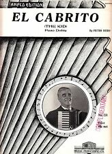 El Cabrito (The Kid) Paso Doble Pietro Deiro 1942 Accordion Sheet Music