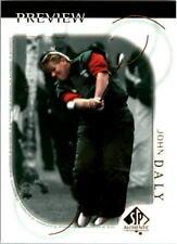 2001 SP Authentic Preview Golf Card Pick