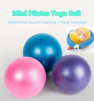 Yoga Pilates Ball 25cm Soft Stability Ball for Core Exercise Pump