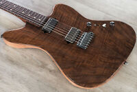 Suhr Classic JM Custom Guitar, Flame Walnut Top, Okoume Neck, Rosewood Fretboard