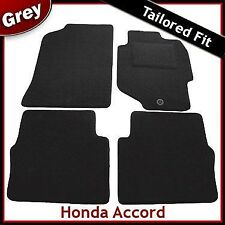 Honda Accord (1998 1999 ... 2001 2002 2003) Tailored Fitted Carpet Car Mats GREY
