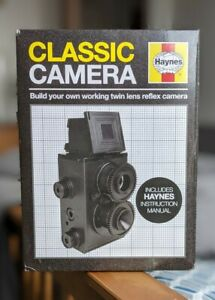 Haynes Classic Camera Kit Build Your Owned Camera 35 MM Film Boxed