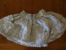 Brand New Girls PUMPKIN PATCH Cotton Blue and White Summer Skirt Size 4