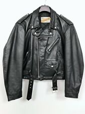 Vintage Schott NYC Perfecto 118 Lederjacke Brando Leather Jacket Café Racer XL