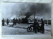 ww2 photo press L'incendie de Varsovie en Septembre 1939   161
