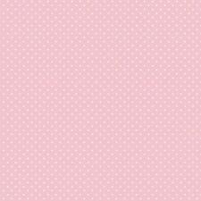 Baumwollstoff Pünktchen Rosa METERWARE Webware Popeline Stoff Dots