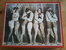 *** 1500 Teile Puzzle MB, Heiße Liebe - Kühles Naß, 03888.221, Boys&Girls, bitte