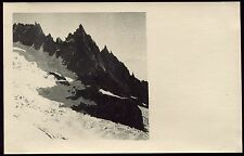 photo ancienne. Mont-Blanc. Dents du Requin  .1935