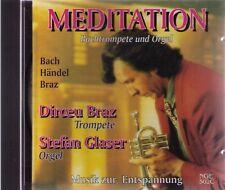 MEDITATION | Bachtrompete und Orgel | Bach Händel Braz | CD-Album