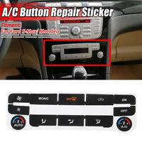 for Ford S-Max/ Mondeo MK4 AC Dash Button Repair Kit Decal Stickers
