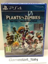 PLANTS VS ZOMBIES BATTLE FOR NEIGHBORVILLE - SONY PS4 - NUOVO SIGILLATO PAL