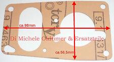 34 PCI Carburatore Solex 2x Guarnizione coperchio Gas Ket p.es. VW Beetle