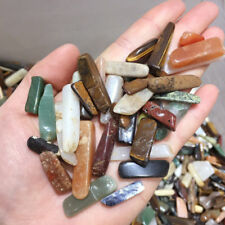 100g Bulk Natural Colorful Crystal Strips Stone Quartz Rock Tumbled Healing