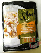 Sheba Tuna And Salmon Cat Food Complete And Balance 70g