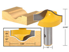 """1-5/8"""" Ogee Groove Router Bit - 1/2"""" Shank - Yonico 14984"""