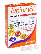 Health Aid Junior-Vit - 30 con Film