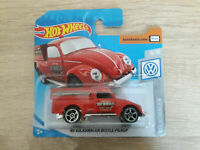 Hot Wheels Hotwheels '49 Volkswagen Beetle Pickup - 1:64 1/64 VW 9/10 Red