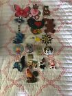 Collection Lot Of 19 Animal Themed Refigerator Magnates