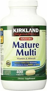 Kirkland Signature Mature Adult Multi Vitamin, 400 Tablets