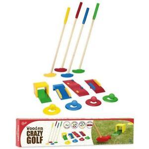 Garden Games Crazy Golf Junior Outdoor Putt Ball Game Toy Family Play Set