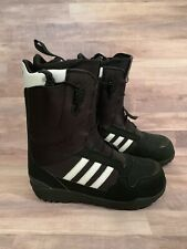 a8a2467876ed3 Adidas Originals ZX 500 Snowboard Boots Mens Size 11 Black White NEW