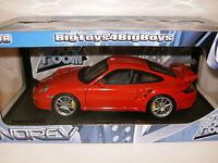 PORSCHE 911 / 997 GT2 de 2007 Rouge Red marque NOREV au 1/18 eme TRES RARE