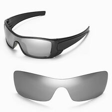 New Walleva Titanium Replacement Lenses For Oakley Batwolf Sunglasses