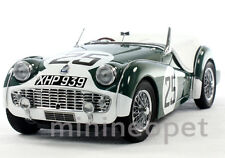 KYOSHO 08033A 1959 TRIUMPH TR3S LM 1/18 DIECAST #25 GREEN
