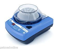 IKA Mini G Portable Centrifuge, 6000rpm Fixed Speed Includes 2 Rotors, 3958000