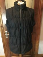 New Patagonia Recycled Wool Vest Gilet Jacket Top Womens Forge Grey Size L Large