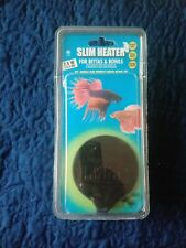 New listing Hydor Slim Heater for Betta Bowls and Fish Aquariums 2-5 Gallons 7.5W, New