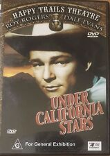 Roy Rogers Happy Trails Theatre Under Californian Stars ALL Region  DVD Like New