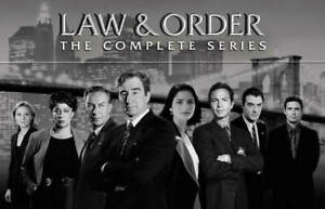 Law and Order: The Complete Series Seasons 1-20 (DVD 2011, 104-Disc Box Set)NEW~