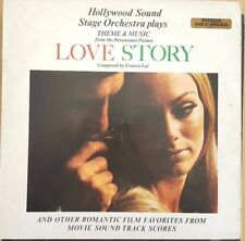 Hollywood Sound Stage orchestra plays LOVE STORY Composed by Francis Lai