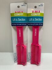 2/Pack - Conair Lift & Section Comb