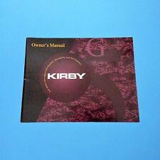 Original Kirby ** Bedienungsanleitung ** Modell G5 >>Deutsch<<