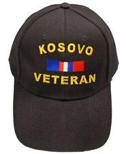 Kosovo Veteran Ribbon Cap Black