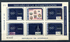Nicaragua Block 125 postfrisch / Olympiade ...............................2/2027