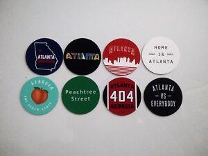 Atlanta Magnets - City of Atlanta Georgia Magnets - City Pride -  8 Designs