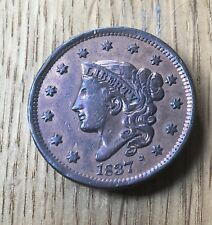 USA 1837 One Cent In Very High Grade (A)