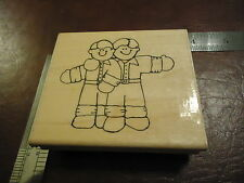 BROTHERLY LOVE BROTHERS RUBBER STAMP FRIENDSHIP TEAMMATES BEST MAN
