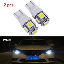 2pc Xenon White T10 921 158 168 Interior/License Plate SMD Light Bulbs 5-LED