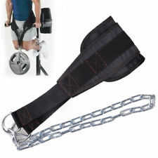 Weight Lifting Belt Gym Back Pull up Chain Dipping Dip Body Building Workout