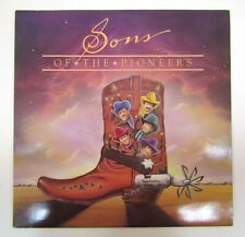 SONS OF THE PIONEERS SIGNED VINYL LP AUTOGRAPH SIGNATURE Country Western Cowboy