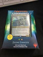 Magic the Gathering TCG Feline Ferocity Commander Deck (New, Sealed)