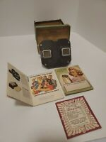 Vintage Sawyer's View-Master Stereoscope Viewer original box as is used TN