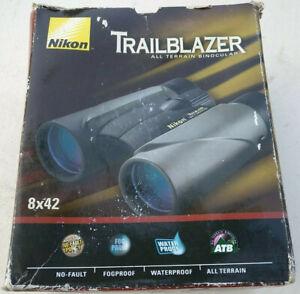 NIKON 8x42 Trailblazer BINOCULARS  New Open Box For Hunting,Sporting Events,etc.